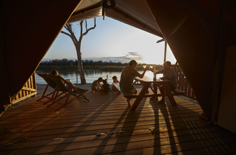 Glamping Camping Nautic Almata Costa Brava Safari tent